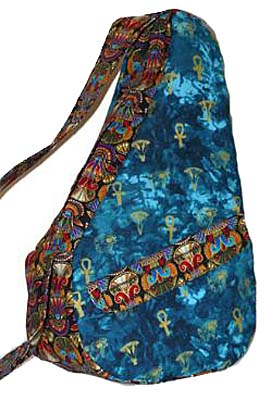 Kidney-Shaped Ergonomic Shoulder Bag Pattern *