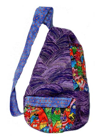 Ergonomic Shoulder Bag Pattern (Pear-shaped) *