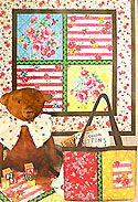Sugar Flower Baby Quilt and Mini Tote Pattern