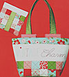 Vintage Charm Tote and Pouch Pattern