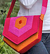 Hex Messenger Bag Pattern