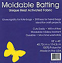 "494-18 Bosal Moldable Batting (18"" x 45"")"
