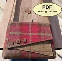 The Breckland Bag Pattern in PDF by Charlie's Aunt