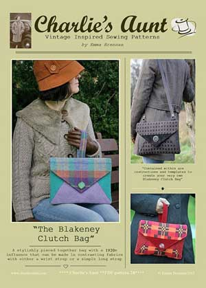 Blakeney Clutch Bag Pattern *