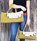 The Date Night Handbag and Carryall Pattern *