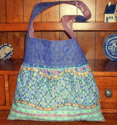 Just Four Fat Quarter Bag Pattern