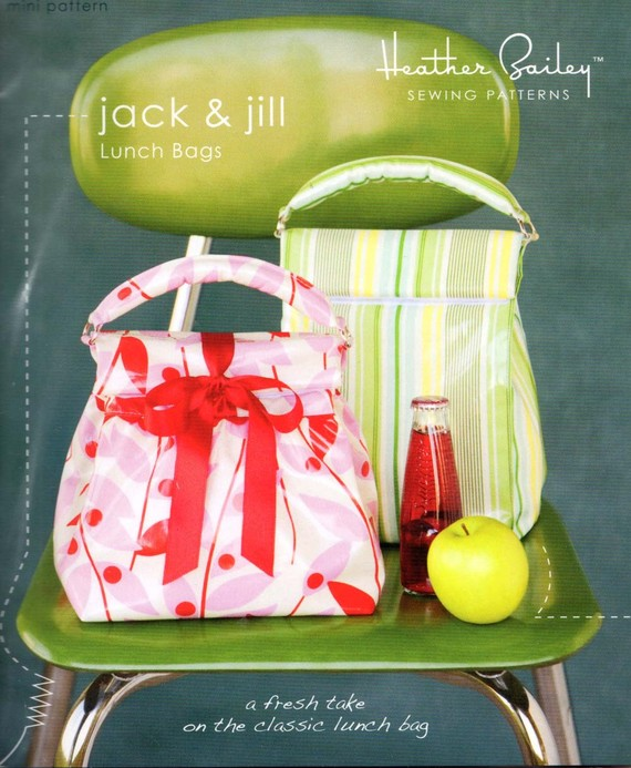 Jack and Jill Lunch Bag Pattern