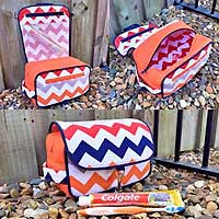 Hang About Toiletry Bag Pattern in PDF