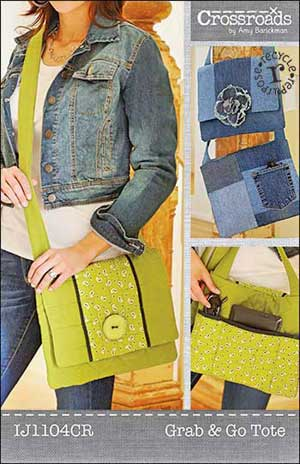 Grab & Go Tote Bag Pattern *
