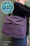 Pocket Tote Pattern by Jen Giddens *