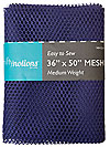 Medium Weight MESH Fabric - Purple