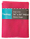 Medium Weight MESH Fabric - Bright Pink