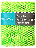 Medium Weight MESH Fabric - Lime Green