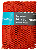 Medium Weight MESH Fabric - Orange