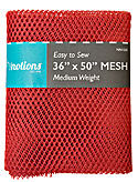 Mesh Fabric - Red (Medium Weight)