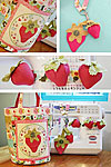 Strawberry Frenzy Pattern