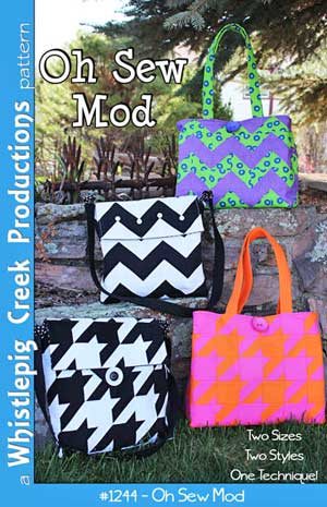 Oh Sew Mod PDF pattern by WhistlePigCreek Productions