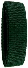"1"" x 36"" Polypropylene Webbing - Forest Green"