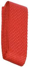 "1"" x 36"" Polypropylene Webbing - Red"