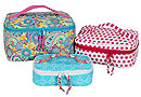 All Aboard! Train Case Trio Pattern