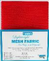 Lightweight MESH Fabric - Atomic Red