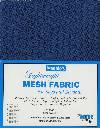 Lightweight MESH Fabric - Blastoff Blue