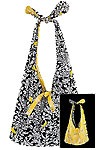 Knot Handle Reversible Tote Bag Pattern *