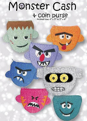 Monster Cash Coin Purse *