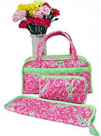 Quilted Sewing & Travel Organizers Pattern in PDF by Jo-Lydia's Attic