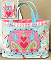 Three Sweet Bluebirds Bag and Needlecase Pattern