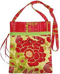 The Runaround Bag Pattern by Lazy Girl Designs