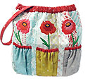 Ada's Poppies II Diaper (Tote) Bag Pattern
