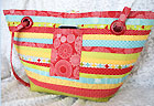 The Strippy Tote Pattern