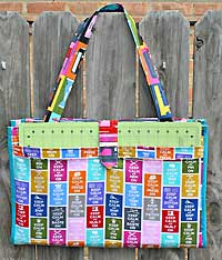 Camp Stitchalot Bag Pattern *