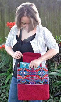 Day Hiker Bag Pattern in downloadable format