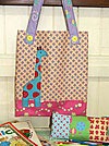 Gemma Giraffe Library Bag and Pencil Case Pattern