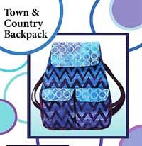 Town and Country Backpack Pattern