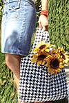 Tote-Ably Green Bag and Wallet Pattern