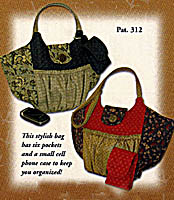 Six Pocket Pizzazz Purse Pattern