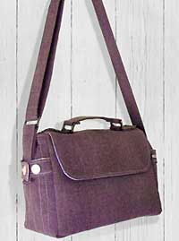 The Satchel Bag Pattern by Mrs. H in PDF