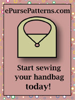 ePurse Patterns - downloadable bag patterns