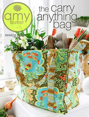 The Carry Anything Tote Bag Pattern by Amy Butler