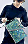 Fabric Knitted Shoulder Bag Pattern