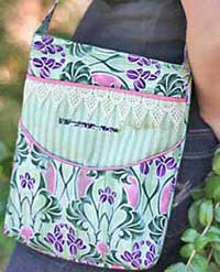Two Pocket Tote Pattern in PDF