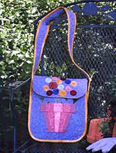 Flower Pot Tote Bag Pattern