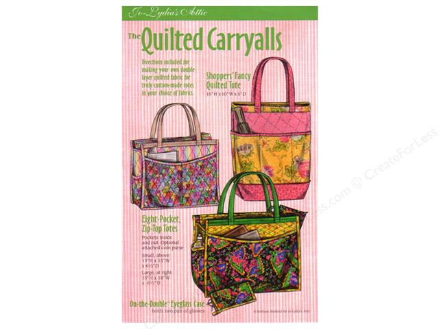 The Quilted Carryalls Tote Bag Pattern