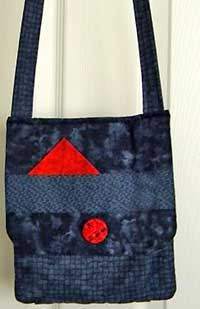 The Sassy Bag pattern by Lazy Girl Designs