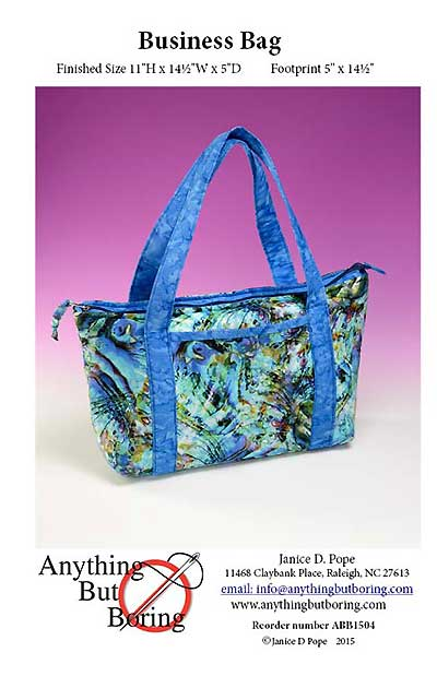 Business Bag Pattern - Click Image to Close