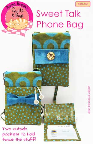 Sweet Talk Phone Bag Pattern - Click Image to Close