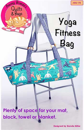 Yoga Fitness Bag Pattern - Click Image to Close